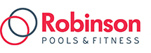 Robinson Pools & Fitness logo