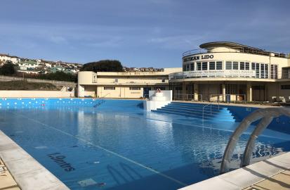Saltdean Lido Outdoor Swimming Pool In Brighton Fusion